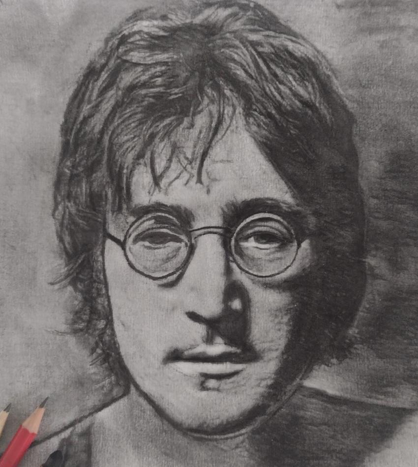 John Lennon by mi7ell